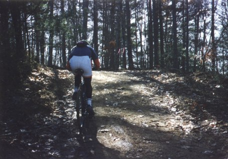 1993 - Suck Creek Classic - I remember telling my dad as I passed by that I needed to get clipless pedals after this race