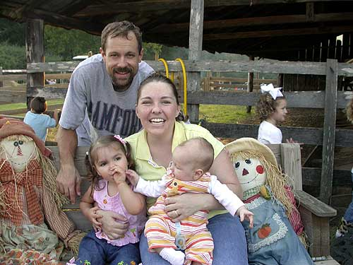 Family picture from our visit to the farm in 2006.