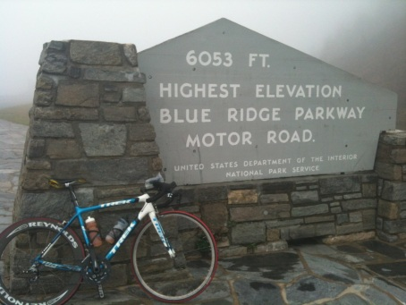 Happy to make it up to the high point of the parkway