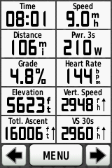 Note the time to total ascent ratio ... about 2000 ft per hour.