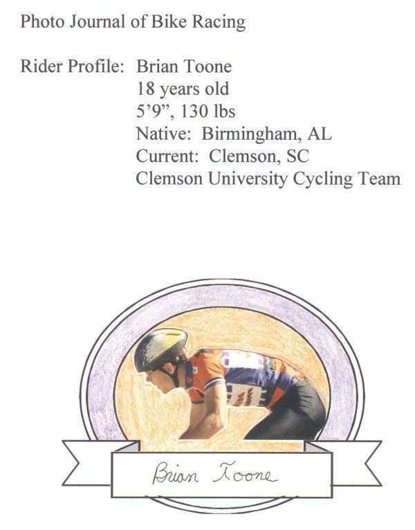 Photo journal of bike racing I started my freshman year of college