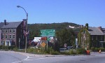 1998 - Fitchburg Longsjo Classic - view of one of the glacial rocks sitting in the middle of town near Sunday's crit course