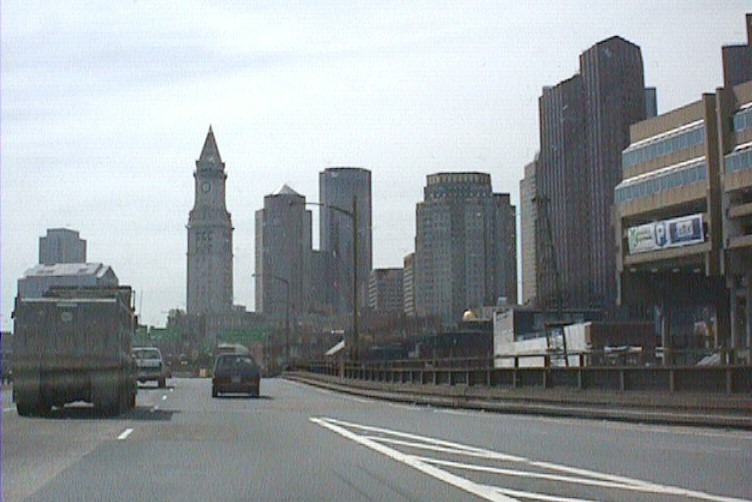 1998 - Fitchburg Longsjo Classic - driving from the airport through Boston to Fitchburg