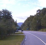 1998 - Fitchburg Longsjo Classic - view of Wachusett Mountain with its hilltop finish for Saturday's road race