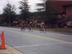 "1997 - Georgia Tech Collegiate A criterium - ""I felt pretty good.  I did not seem to be working nearly as hard on the climb as everybody else.  I also took the corners much faster than everybody.  I tried a solo break on a prime lap and made it to the top of the hill before getting caught.  On the last lap I went hard b/c Bert was in good position. I was too tired to attack on the hill as I had planned."""