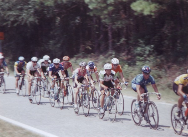 1997 - PeeDee road race - national champ present again. This was the only race my Grandma on my dad's side of the family ever got to see me race.
