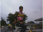 1998 - Roanoke stage race - Saturn pro rider Tina Pic (I think) everybody at Clemson had a crush on her