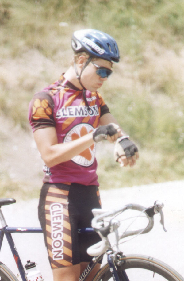 1997 - Tour de Appalachia in West Virginia and Ohio - I always looked like a chipmunk