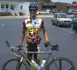 1998 - NC/SC time trial - two things stand out in my memory about this race for me ... I just barely missed breaking an hour in the 40K tt (by a few seconds) and I had just gotten a ticket for speeding on the way to the race
