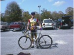 1998 - Jacksonville, FL - me before the start of the USCF pro/1/2 race on Sunday