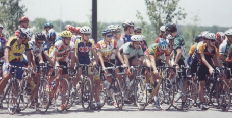 1997 - Athens twilight Sunday race in Conyers, GA. I had placed 2nd to George Hincapie the day before at the Assault on Mt Mitchell