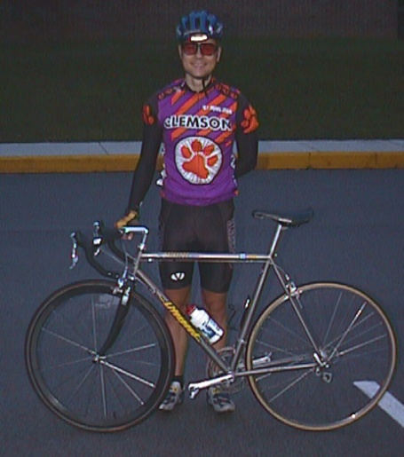 1998 - UTK Knoxville Collegiate A road race - right after winning the race