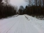 Beautiful snowy frog lake rd