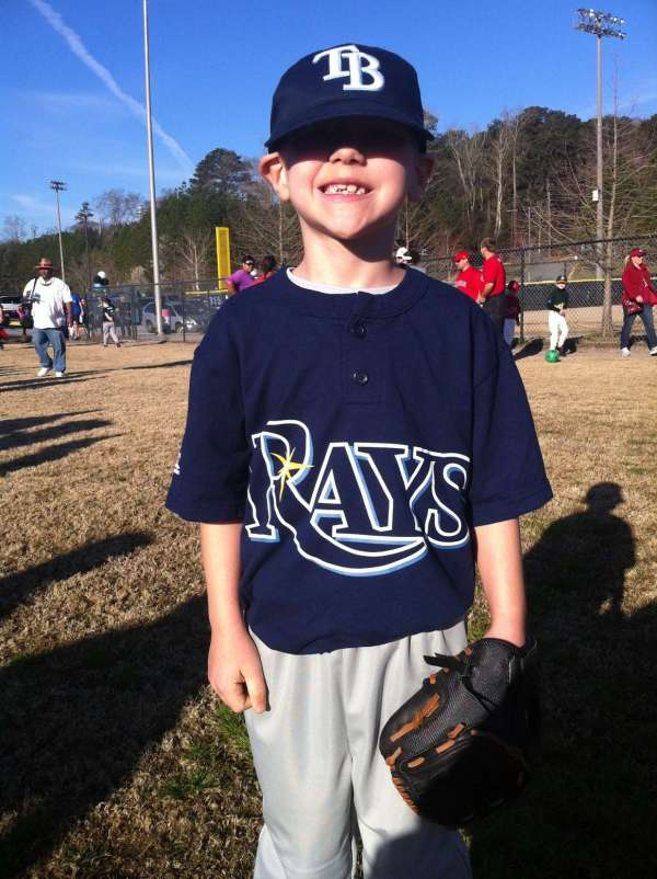 I was able to go with Josiah to his opening ceremonies for the spring baseball season and snapped a few pics