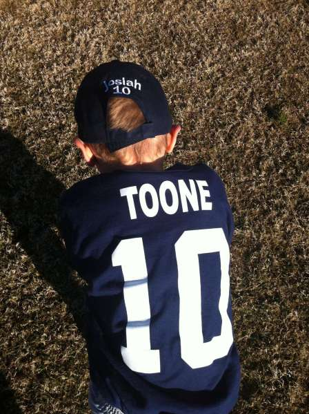 Josiah Toone #10 of the Tama Bay Rays - that's my boy!
