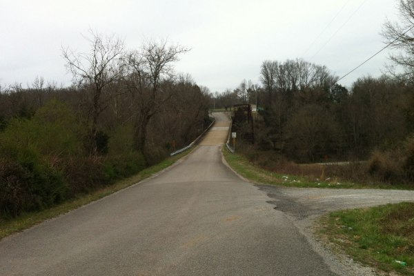 Duck River bridge #2 - I thought this would be more strategic in the race because of the hill