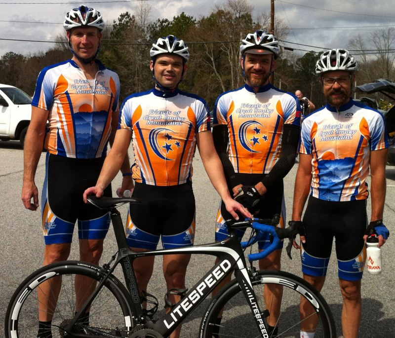 Team photo (left to right) - Kurt Page, John Hart, Jeff McGrane, Brian Toone