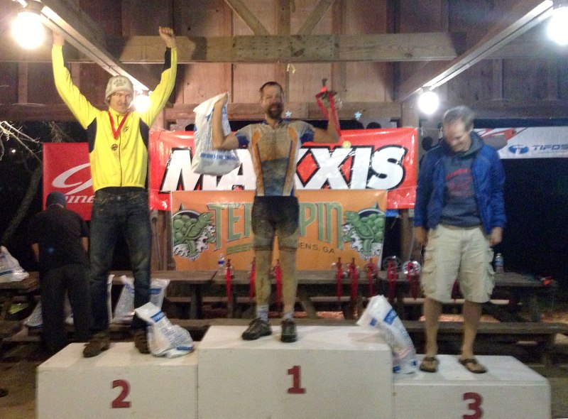 Solo expert podium - (left to right) - Tyler Murch, Brian Toone, Darby Benson