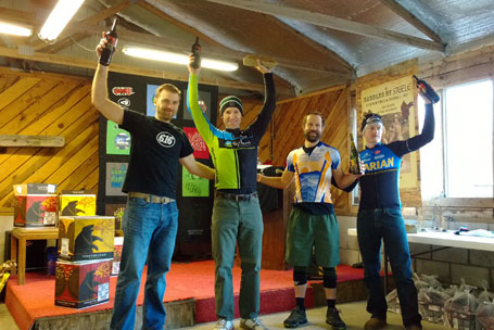 Male open podium
