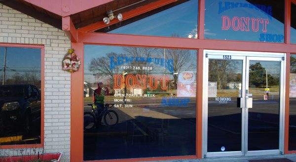 Lewisburg donut shop