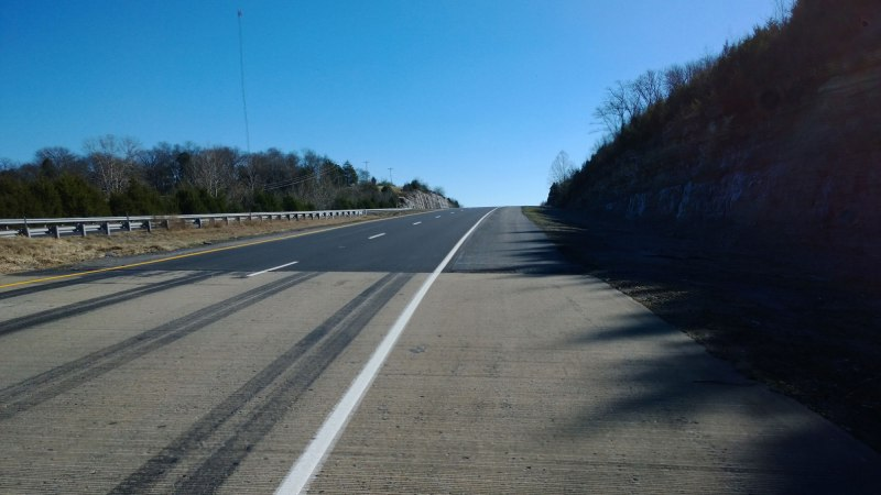 Climb on US-64 outside Fayetteville, TN