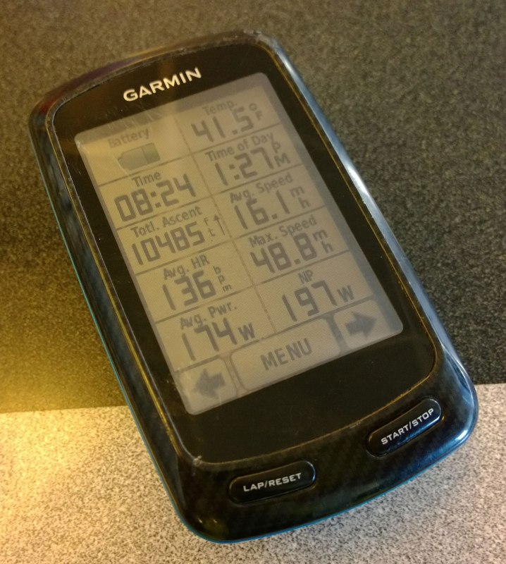 Nashville to Huntsville - ride stats part 2