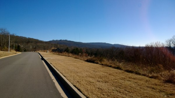 Monte Sano, the main climb up this starts right in downtown Huntsville
