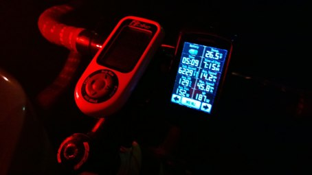 Garmin ride stats from Huntsville to Skyball, part 2