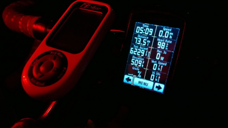 Garmin ride stats from Huntsville to Skyball, part 1