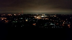 After crossing Red Mountain, I still had Shades Mountain to climb up to Vestavia Dr where I got this pic of Homewood and Birmingham as well as the next pic of Samford.