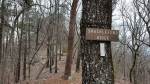 The Shackleford Ridge sign and trail.