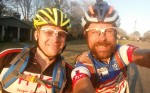 Michael Staley and I leaving from my house to head over to Cheaha together.
