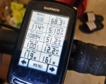 Final garmin screenshots - 114 miles from the top of cheaha to my house via double oak.