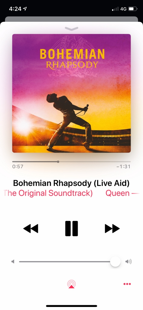 bohemian rhapsody soundtrack on repeat